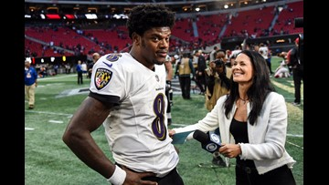 Ravens dominate Falcons 26-16 for 3rd straight win