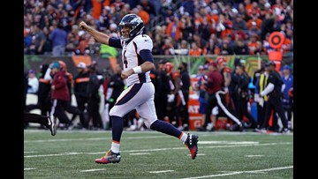 Lindsay leads Denver to 3rd straight win, 24-10 over Bengals