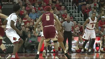 UofL hosts Boston College at KFC Yum! Center