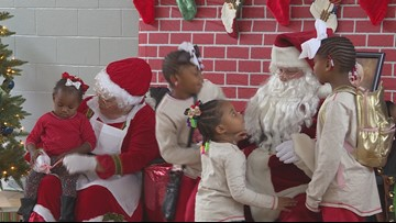 Police host Christmas party for local children and families