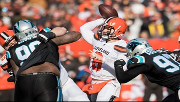 Mayfield, Browns send Panthers to fifth straight loss