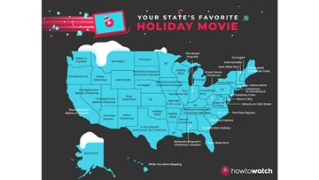 Here are Kentucky and Indiana's favorite holiday movies