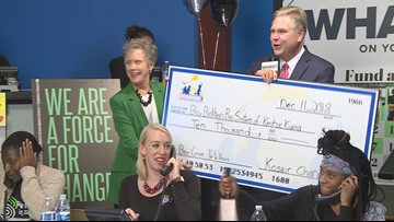 Big donations for Big Brothers Big Sisters on WHAS11