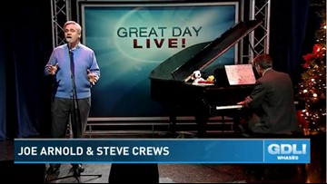 It's a Christmas Musical! Joe Arnold and Steve Crews play the classics