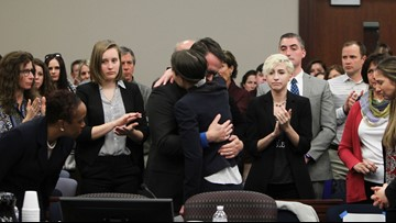 Louisville woman honored for courage in Larry Nassar scandal