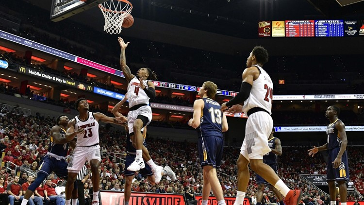 Cunningham, Sutton lead sharp shooting Louisville, 83-70
