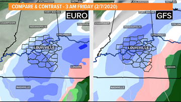 Light snow likely Thursday night and Saturday