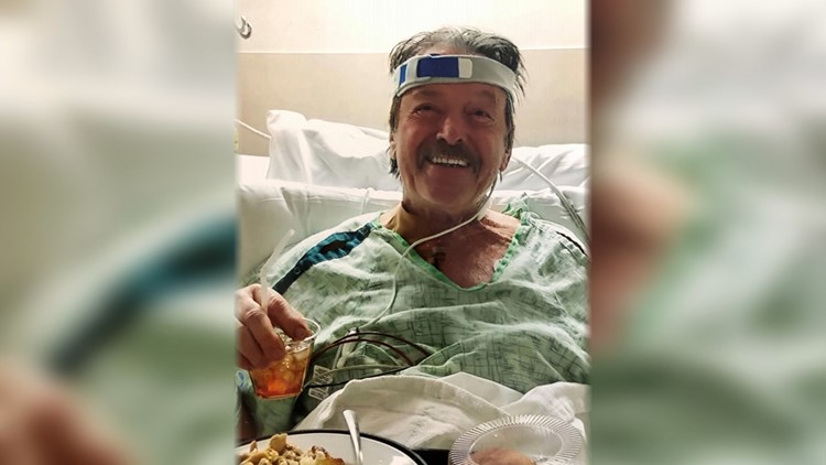 Ernie Adams in hospital