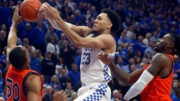 Kentucky tops Auburn to clinch regular season SEC title