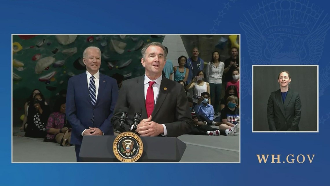 RAW: President Biden delivers remarks on progress made in fight against COVID-19