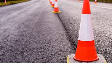 Some Indiana road construction projects paused for Labor Day