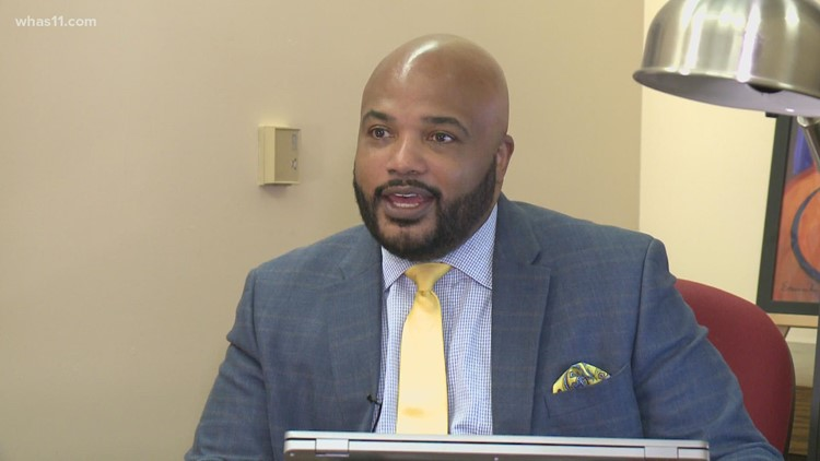 Louisville native Vincent James Sr. is 'walking in my purpose' at Dare to Care