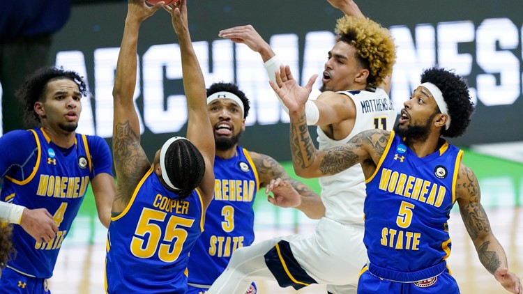 Morehead State, Kentucky's only team to make the NCAA tournament loses in first round