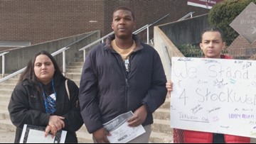 'He's always engaged in our classrooms': JCPS students show support for principal following KDE's report