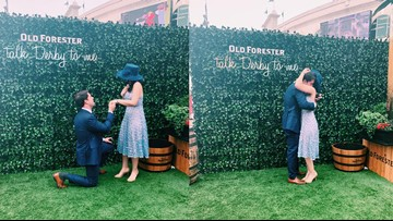 Old Forester searching for mystery couple who got engaged at Churchill Downs