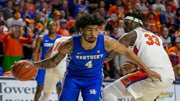 No. 6 Kentucky rallies from 18 down, stuns Florida 71-70