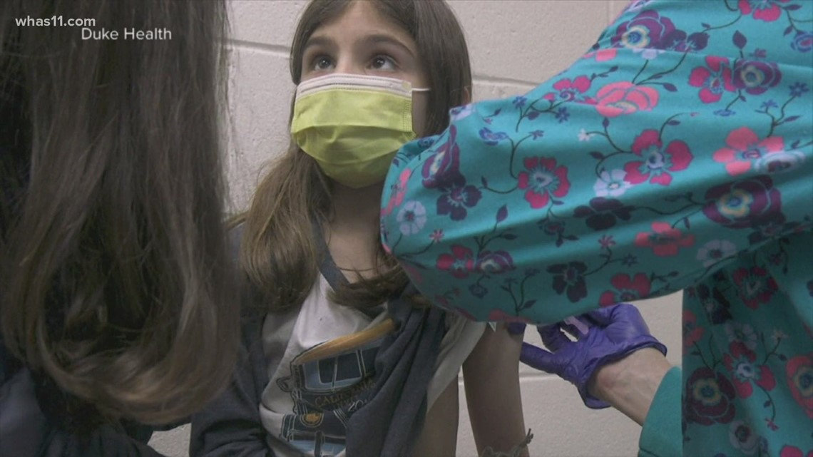 Pfizer hopes to vaccinate children ages 2-11 by fall