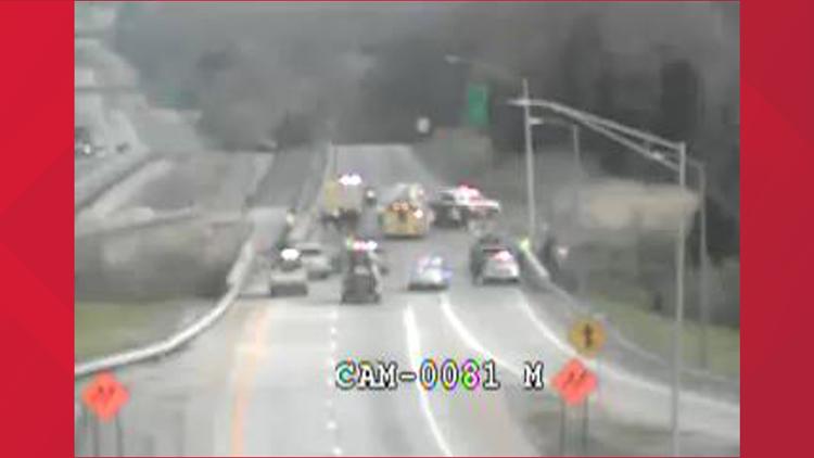 Fatal crash shuts down I-265 North near Taylorsville Road