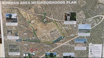 Bowman area showcases neighborhood plans