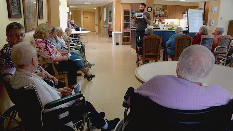 Storytelling partnership helps seniors write new chapter