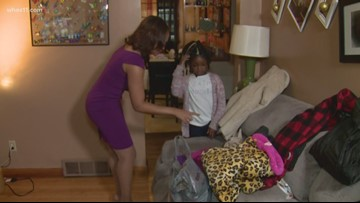 Louisville 7-year-old collects donations for those in need