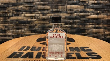 Dueling Barrels Brewery & Distillery to distribute free  hand sanitizer