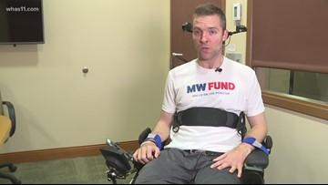 UofL helps high-level spinal cord patient