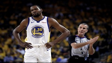 Kevin Durant out for Game 3 of NBA Finals