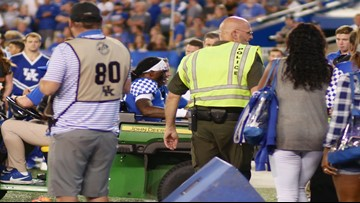 Kentucky QB Terry Wilson out for the season after suffering knee injury