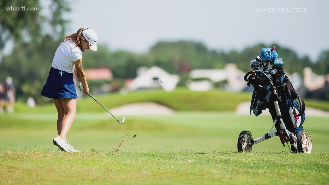 Xavier golfer excited to return home for NCAA's