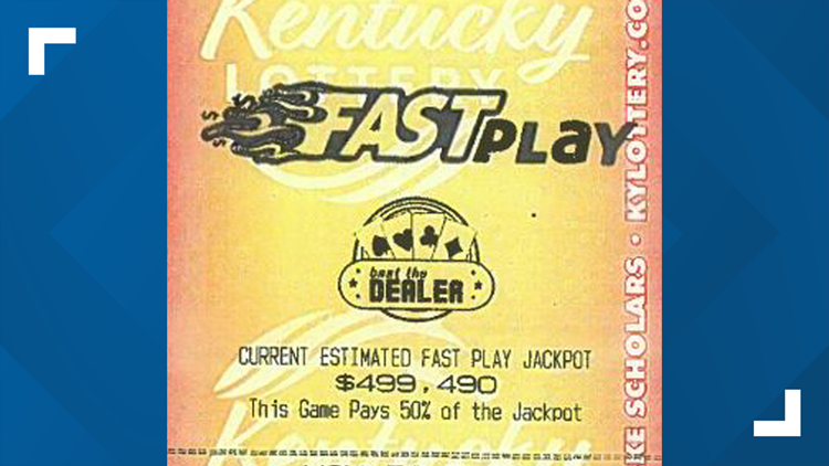 Louisville man wins nearly $250,000 on Kentucky Lottery's Fast Play game