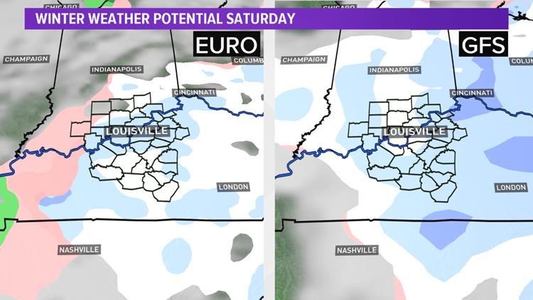 Weekend SNOW potential!