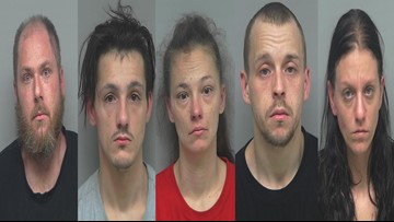 Suspicious activity at New Albany park leads to multiple drug arrests