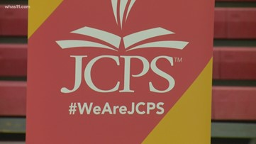 What does JCPS' move to non-traditional instruction mean for students?