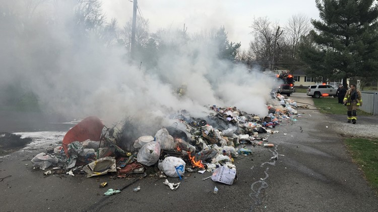 Rumpke fire Middletown