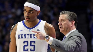 Kentucky nabs two seed, will face Abilene Christian in NCAA Tournament