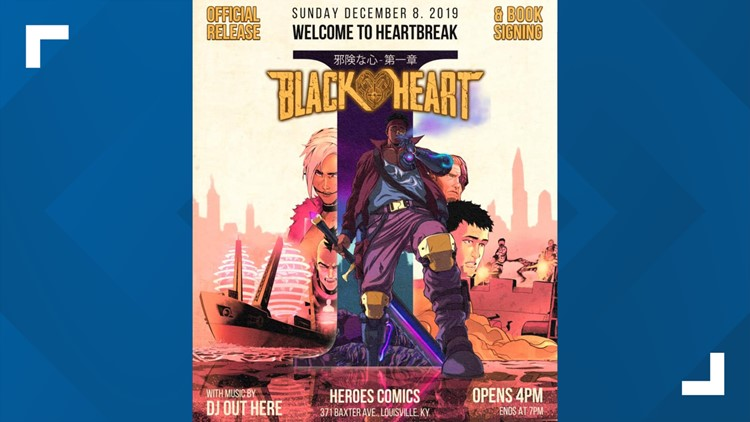 Black heart book release