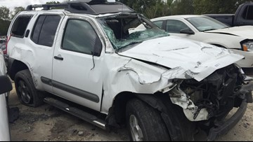 Woman 'lucky to be alive' after hit-and-run crash, police searching for responsible driver