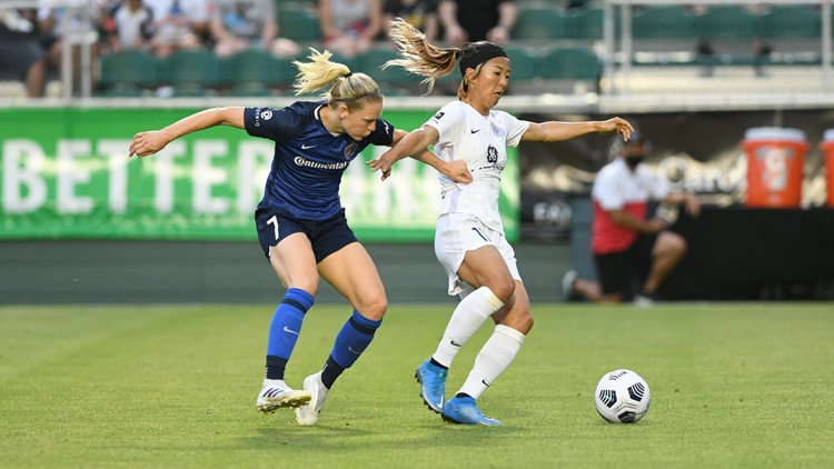 NC Courage rolls in rout against Racing Louisville 5-0
