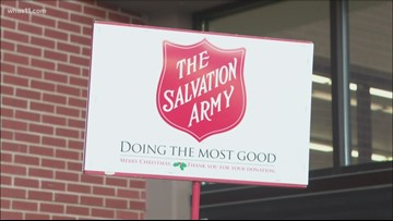 Mayor Fischer, Salvation Army announce plans to make sure communities have food
