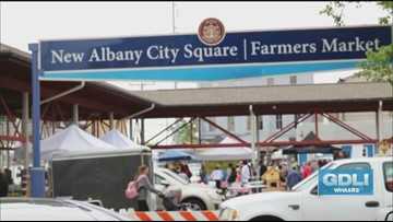 Explore the New Albany Farmers Market
