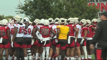 Cards hit practice field; looking to create depth in fall camp