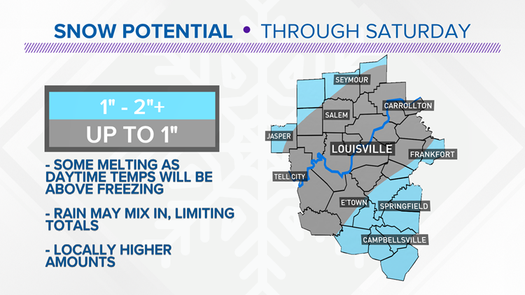 Old Man Winter is back with snow and cold this weekend