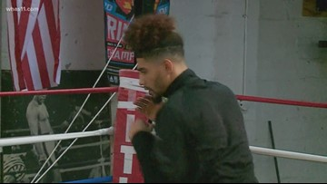 Louisville boxer looks to continue Muhammad Ali's legacy