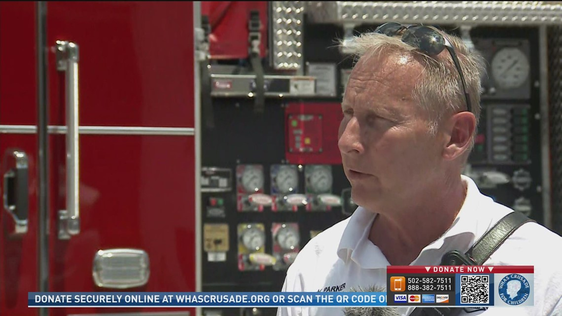 South Oldham assistant fire chief says community came together to support Crusade for Children