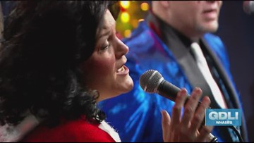 Eight Inch Elvis performs on Great Day Live