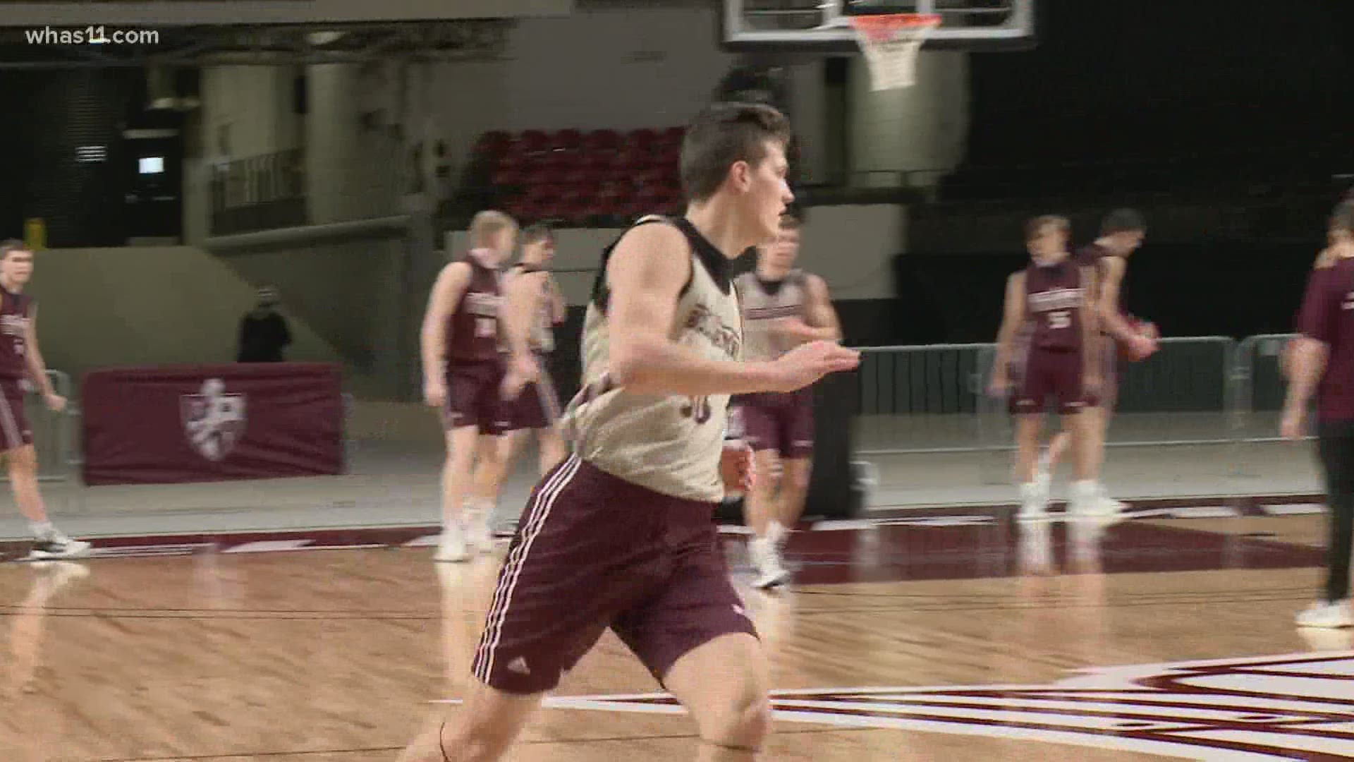 Bellarmine S Nick Thelen Looks To Carry Family S Torch Whas11 Com