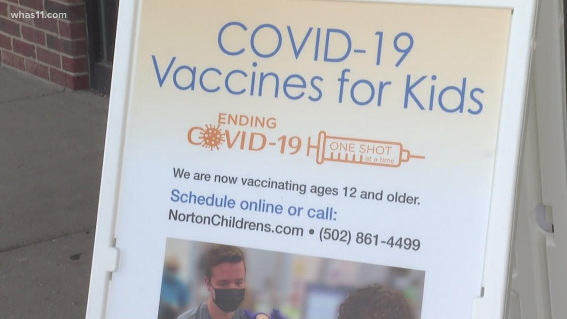Children 12-15 receive Pfizer COVID-19 vaccine in Louisville