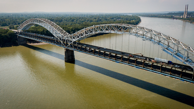 Extended Sherman Minton Bridge closure scheduled for October