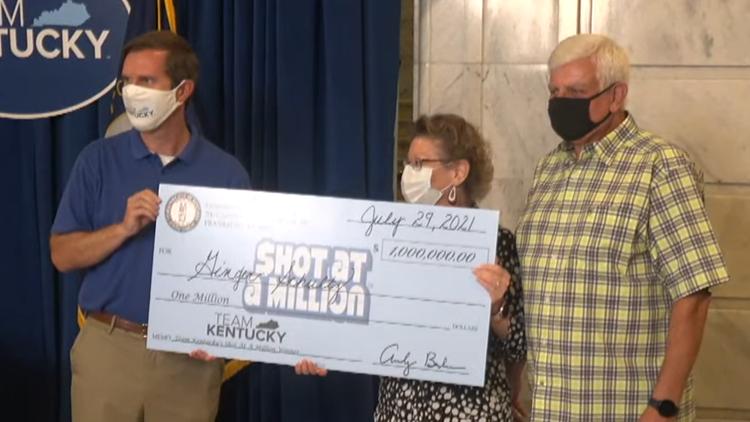 Louisville native wins Kentucky's second $1 million vaccine lottery